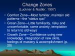 change zones luckner nadler 1997