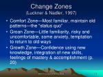 change zones luckner nadler 1997