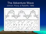the adventure wave schoel prouty radcliffe 1988