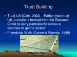 trust building35