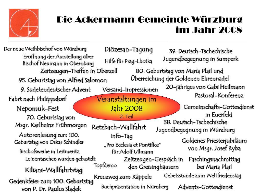die ackermann gemeinde w rzburg im jahr 2008 l.