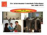 die ackermann gemeinde w rzburg im jahr 200817