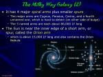 the milky way galaxy 2