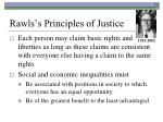 rawls s principles of justice