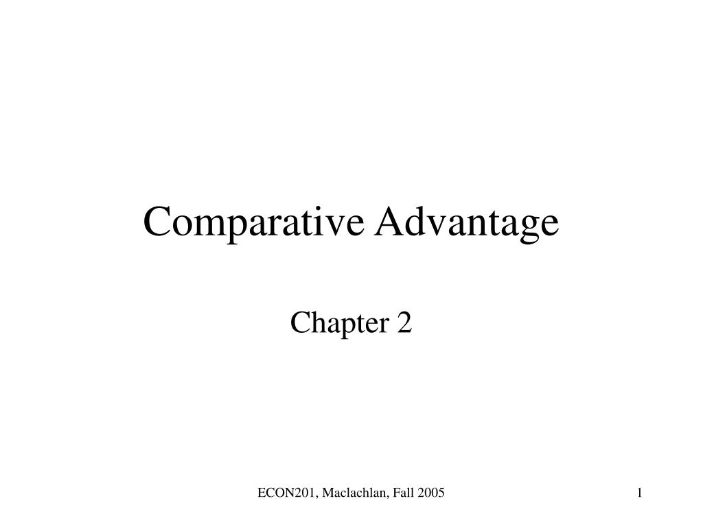 comparative advantage l.