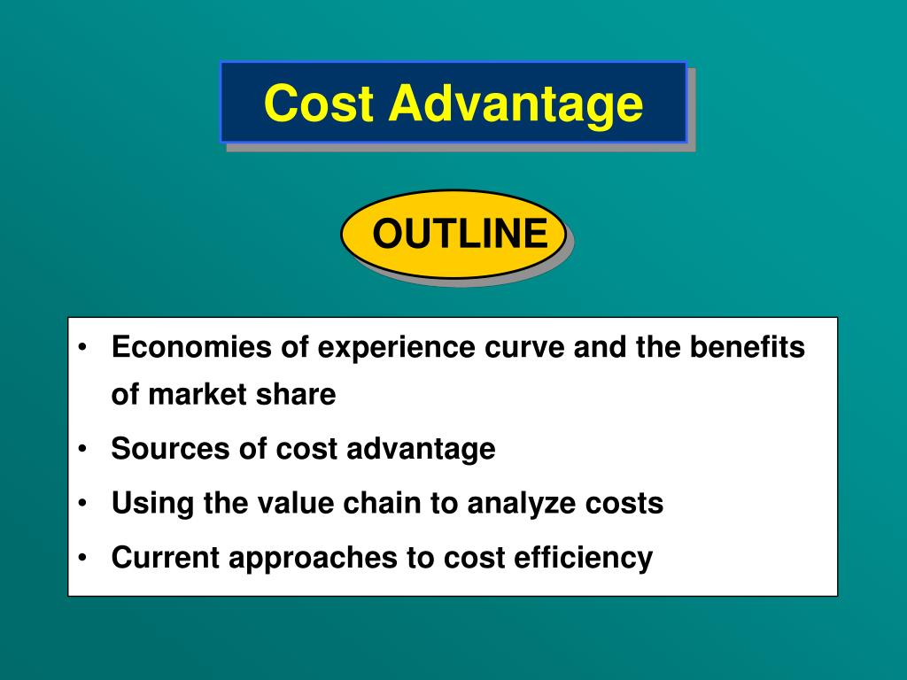 Cost Advantage