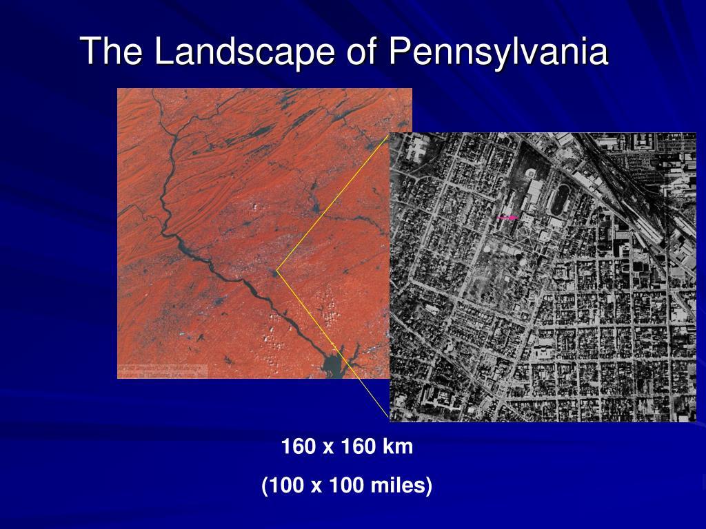 The Landscape of Pennsylvania
