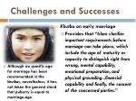 challenges and successes14