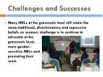challenges and successes17