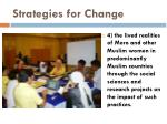 strategies for change12