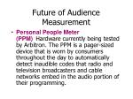 future of audience measurement