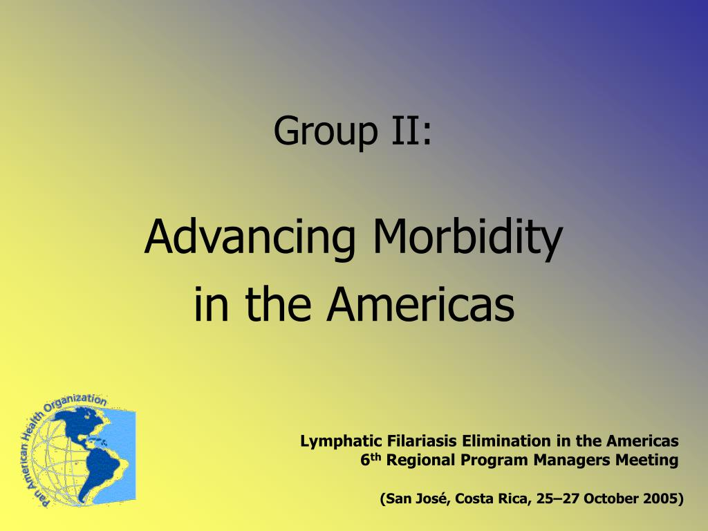 Advancing Morbidity