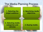 the media planning process10