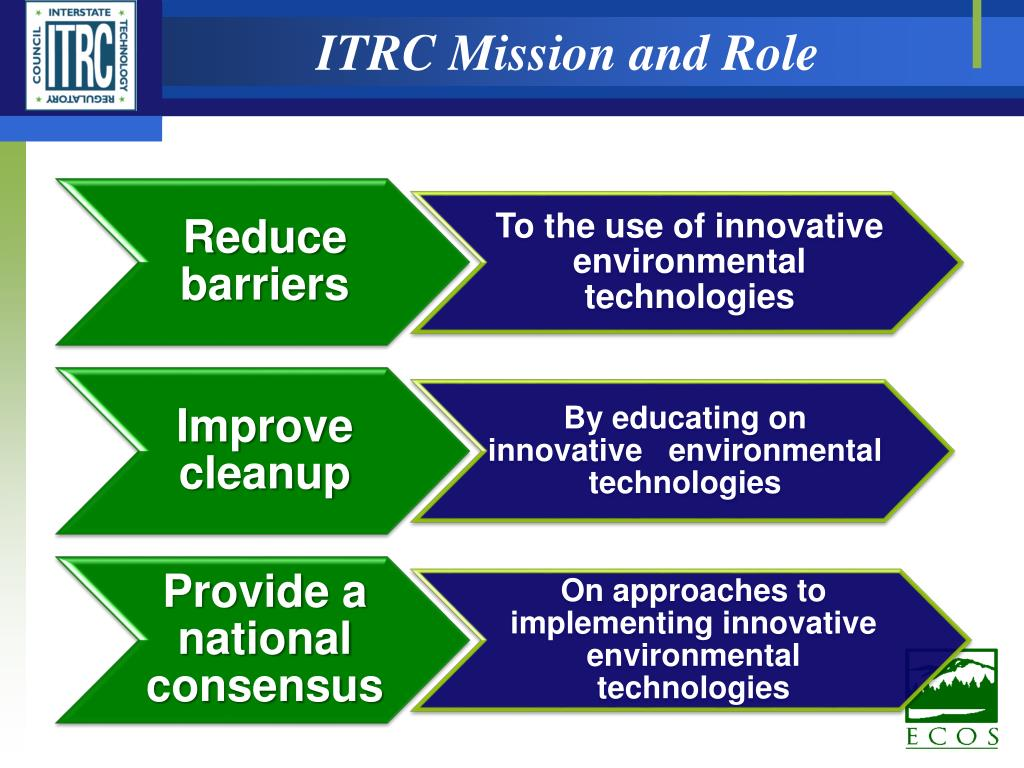ITRC Mission and Role