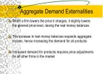 aggregate demand externalities