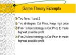 game theory example
