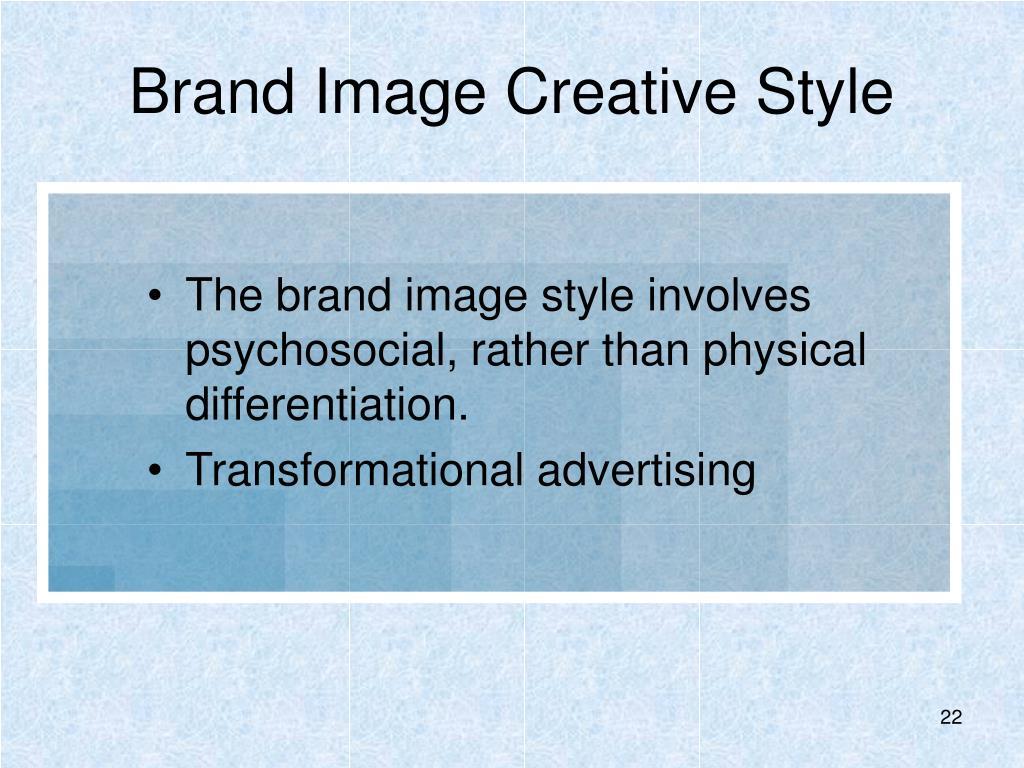 Brand Image Creative Style