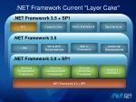 net framework current layer cake