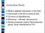 australian study46