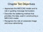 chapter ten objectives4