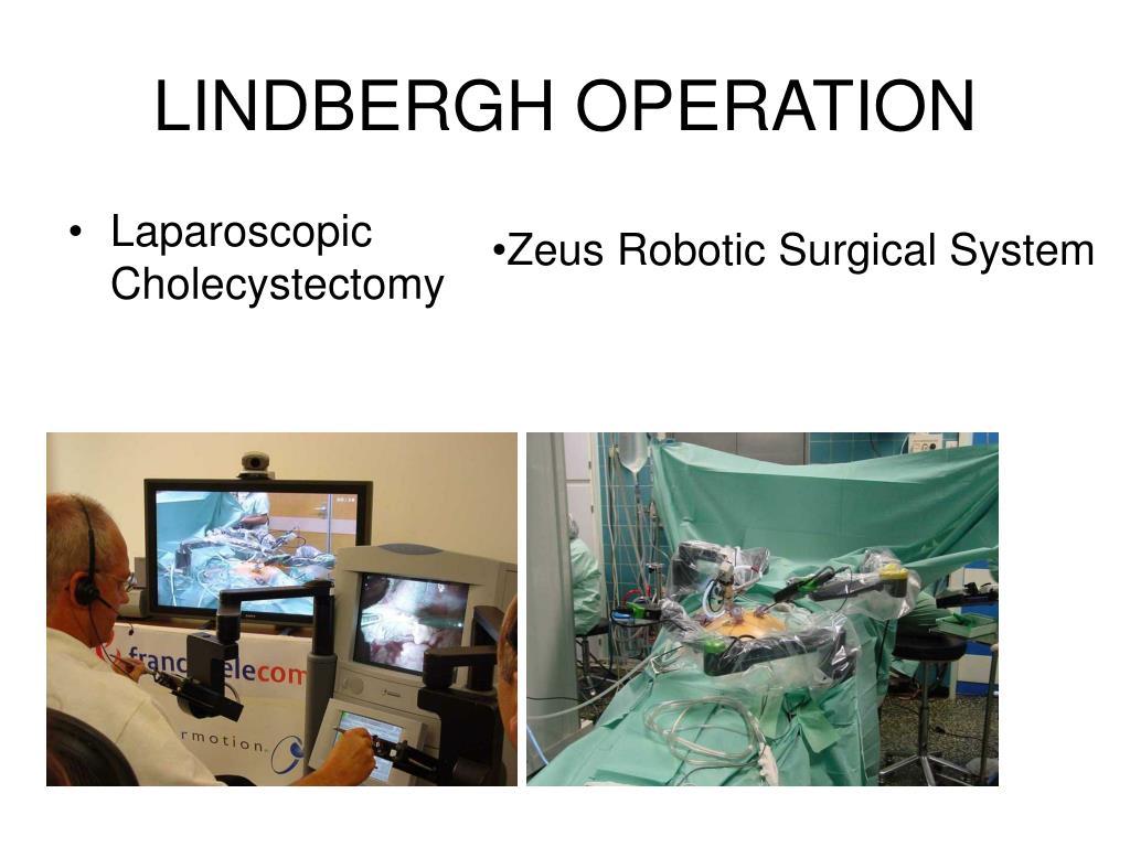 LINDBERGH OPERATION