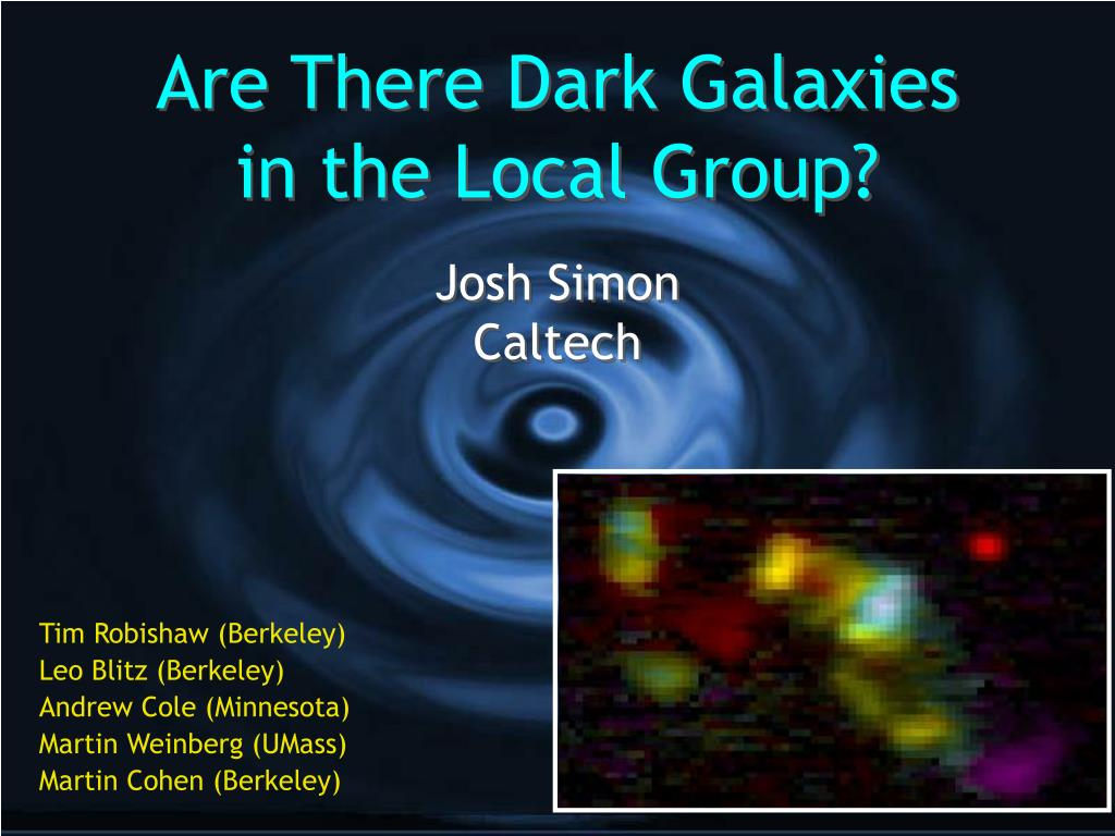 are there dark galaxies in the local group l.