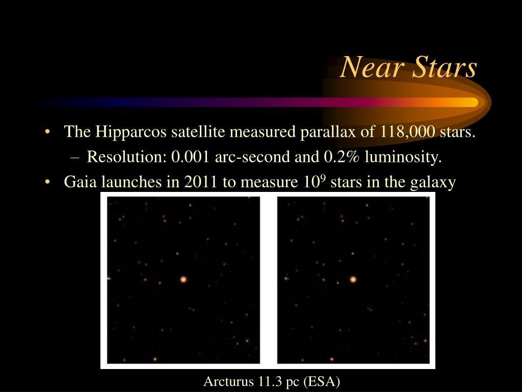Near Stars