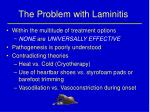 the problem with laminitis