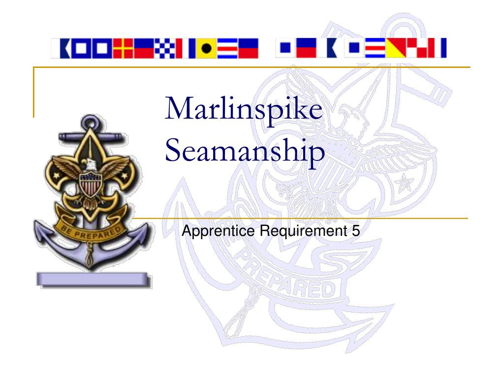 marlinspike seamanship l.