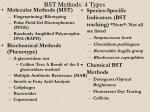 bst methods 4 types