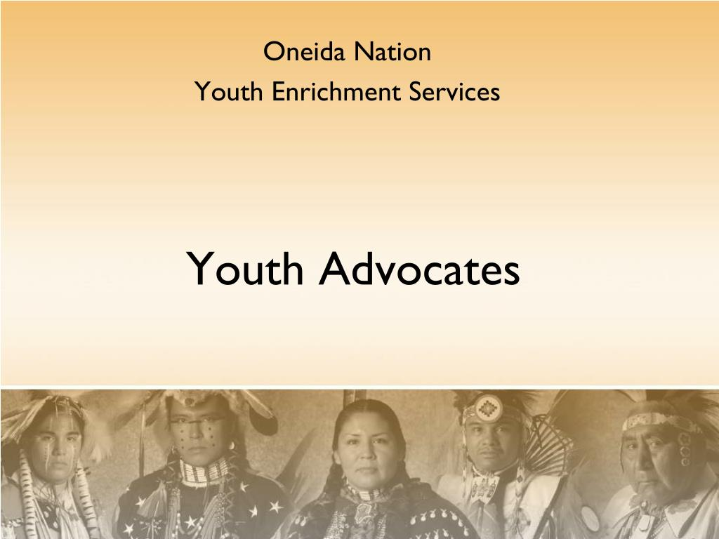 oneida nation youth enrichment services l.