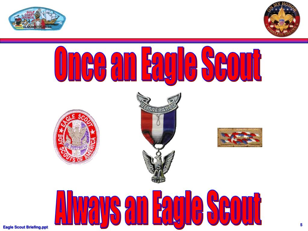 Once an Eagle Scout