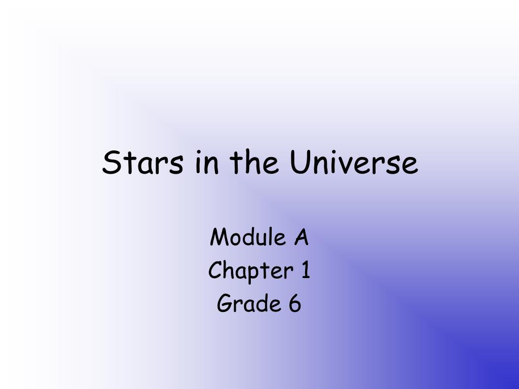 stars in the universe l.