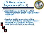 u s navy uniform regulations chap 110
