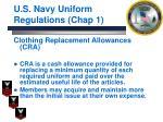 u s navy uniform regulations chap 18