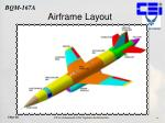 airframe layout