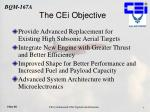 the cei objective
