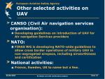 other selected activities on uav13