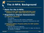 the a npa background4