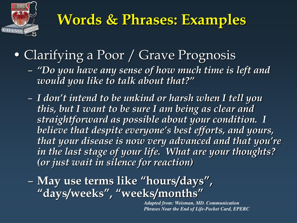 Words & Phrases: Examples