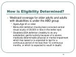 how is eligibility determined10