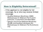 how is eligibility determined14