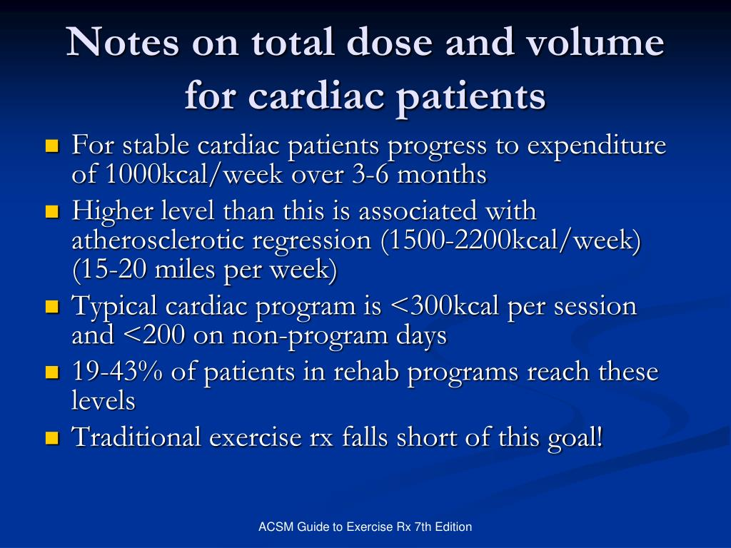 Notes on total dose and volume for cardiac patients