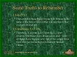 some truths to remember20