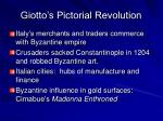 giotto s pictorial revolution