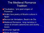 the medieval romance tradition