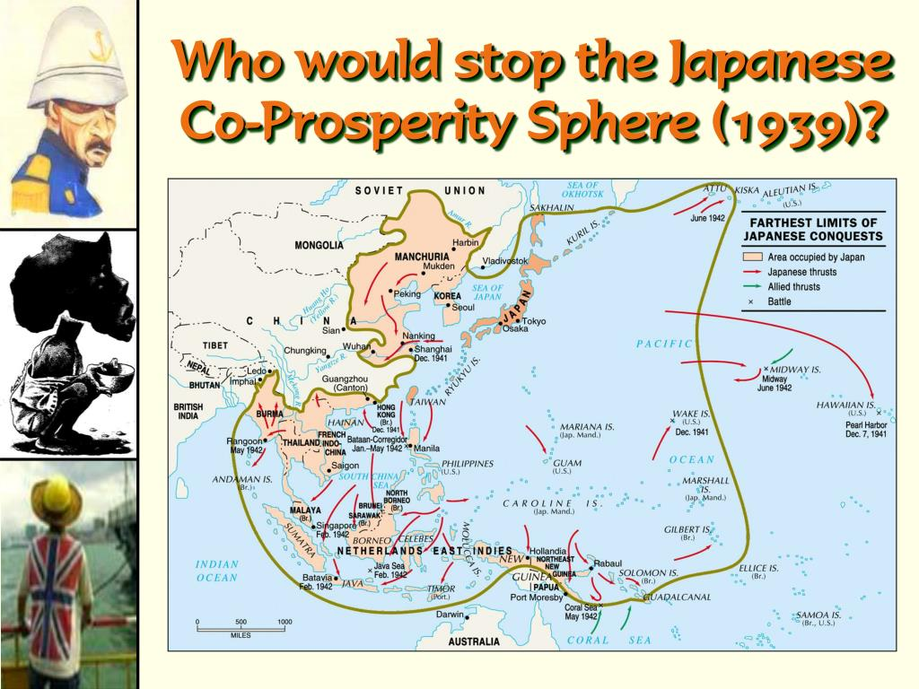Who would stop the Japanese Co-Prosperity Sphere (1939)?