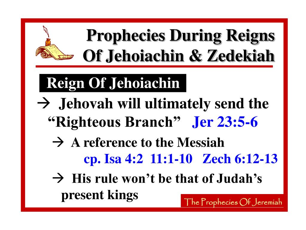 Reign Of Jehoiachin