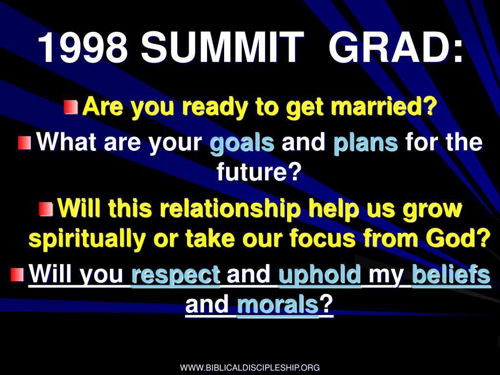 1998 SUMMIT  GRAD: