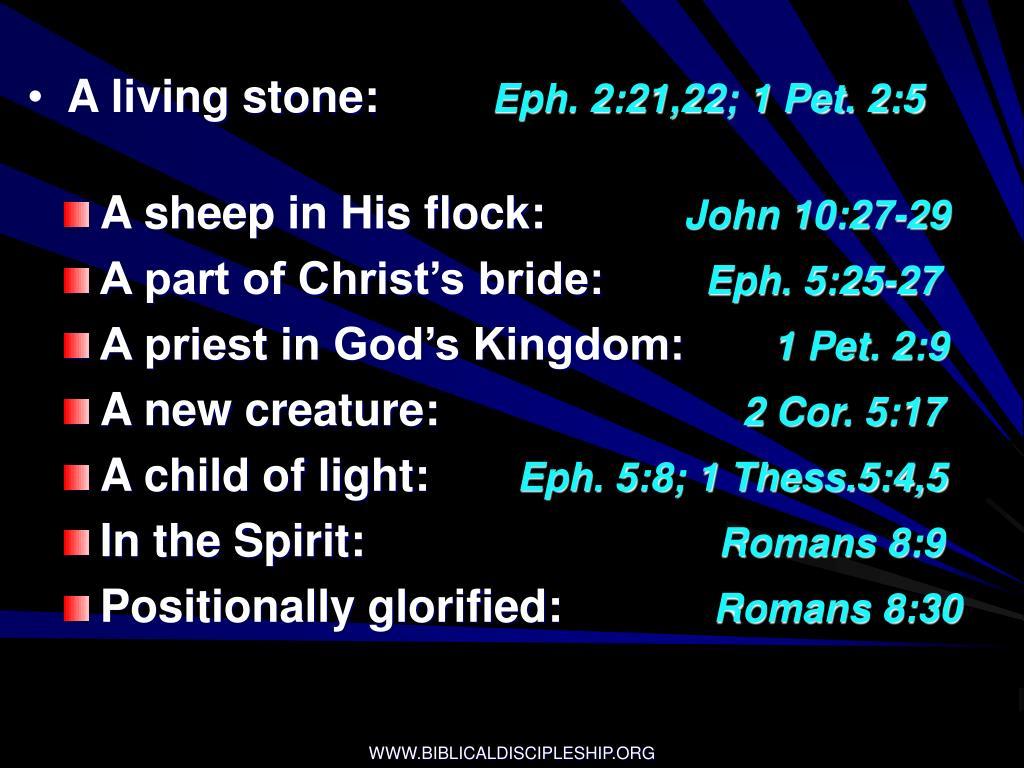 A living stone:
